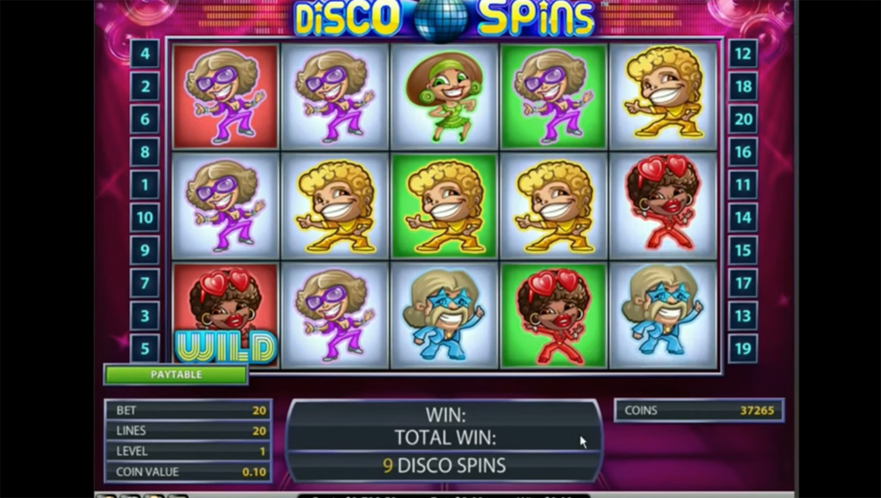 Go Back To The Swinging Seventies In Netent S Disco Spins Slot