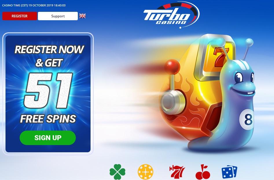 Turbo casino website
