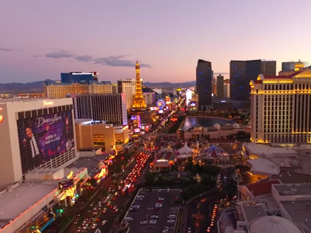 Las Vegas casino skyline