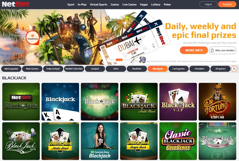 blackjack netbet online casino stories facts